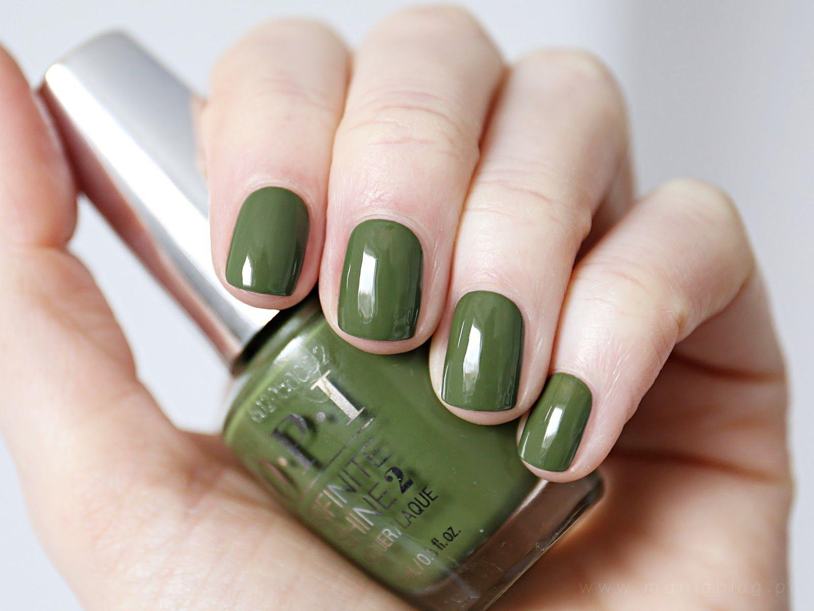 Opi Infinite Shine Olive For Green Spring 2016 Lakier Do Paznokci Paznokcie Lakier