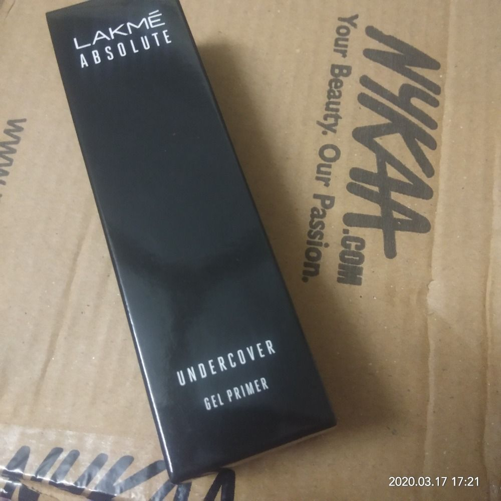 Lakme Absolute Under Cover Gel Face Primer Review Nykaa