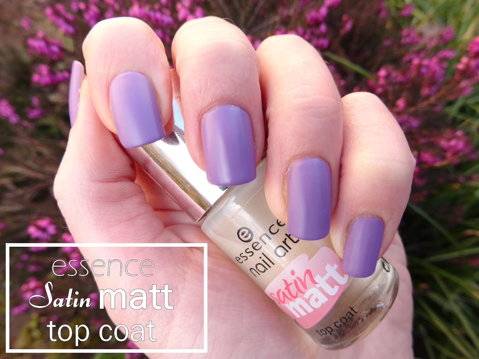 Beauty Blog Essence Satin Matt Top Coat