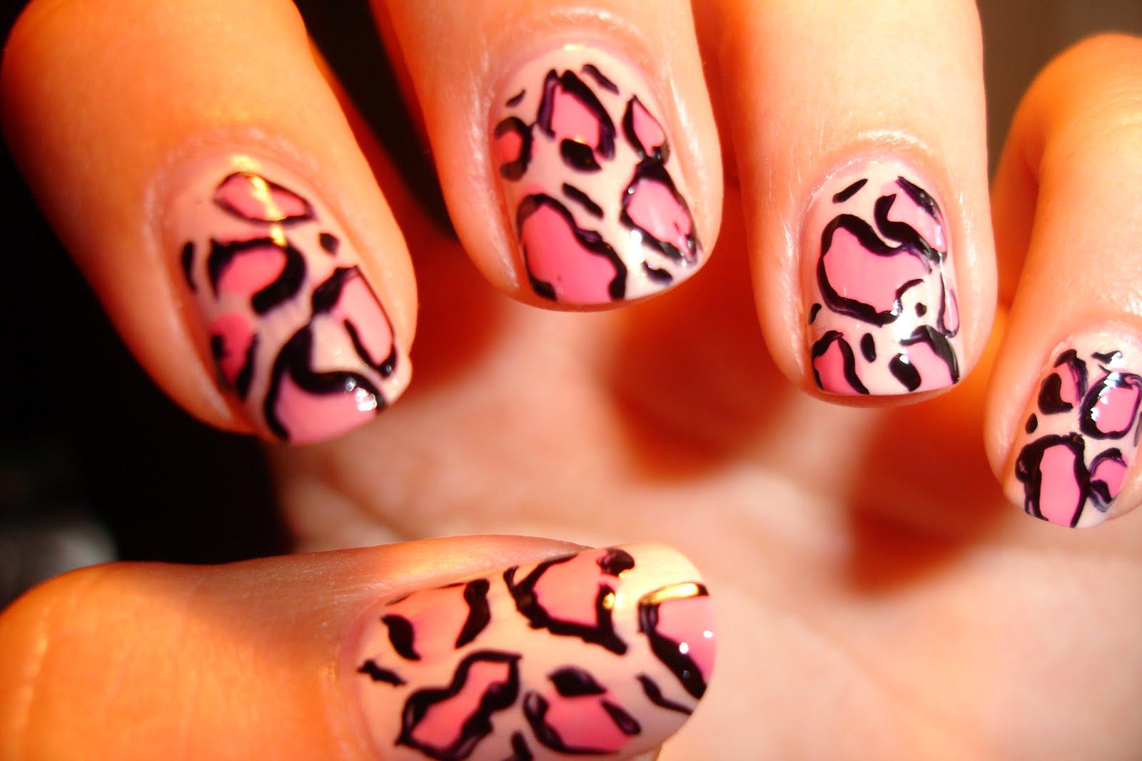 Ievas Blogs Roza Leopardi Iemeginu Color Club Nagu Lakas