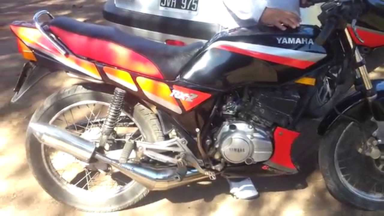 Yamaha 135 Rxz Provando El Escape Youtube