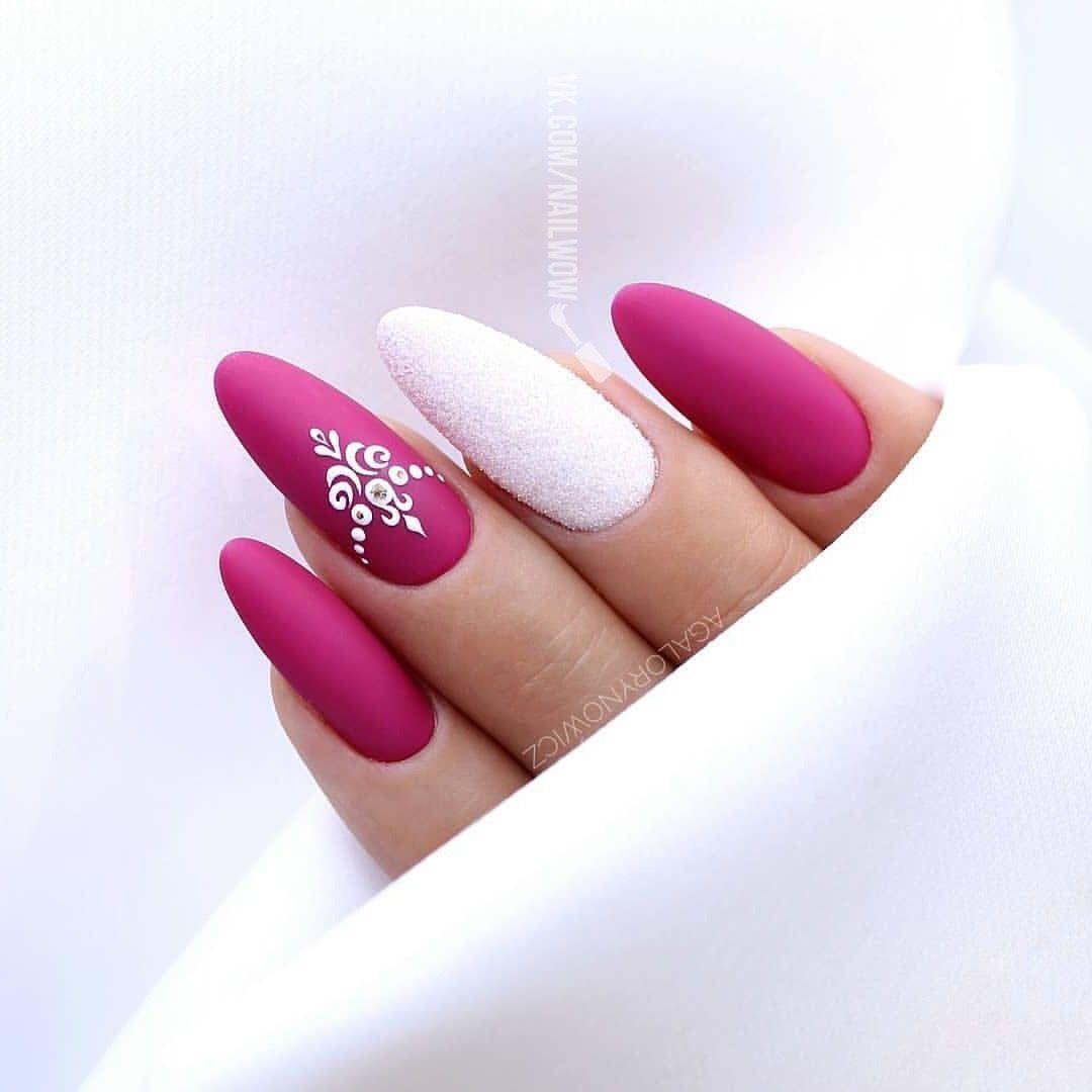 Pin Uzivatele Naninails Na Nastence Pink Nails Nail Art Design Nehtu Nehty A Design
