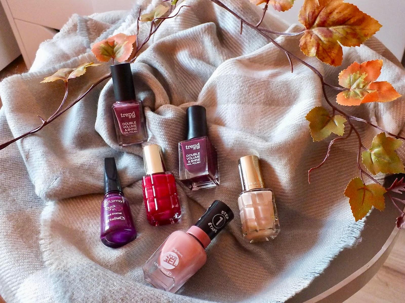 Lady Twig Podzimni Laky Na Nehty Trend It Up Flormar Sally Hansen L Oreal
