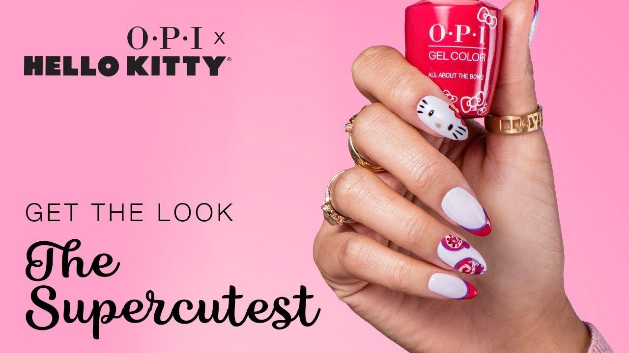 Hello Kitty Nail Polish Holiday Collection Opi