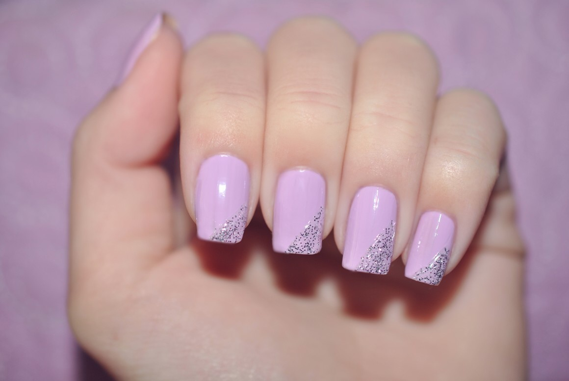 Claire Style Day 6 Violet Nails