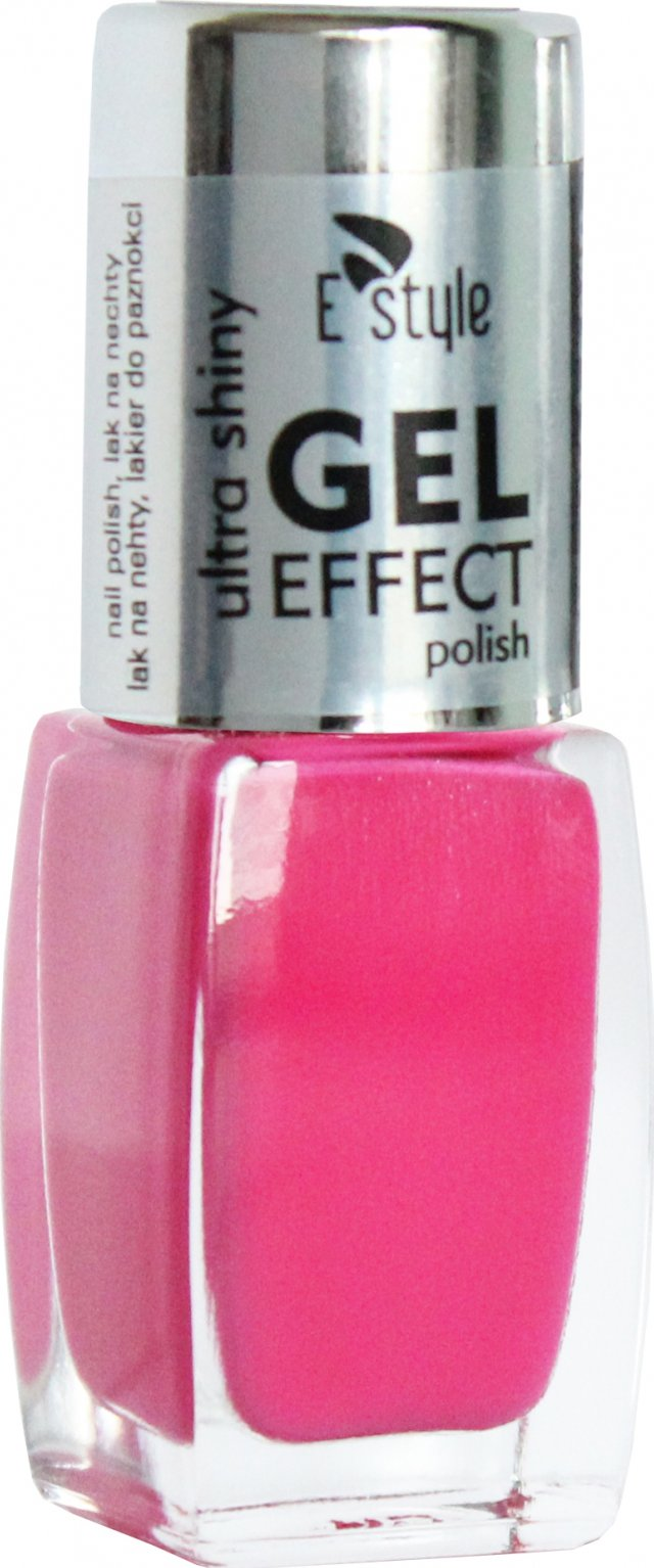 E Style Gel Effect Gelovy Lak Na Nehty 10 Ml 12 Hot Pink Zbozi Cz