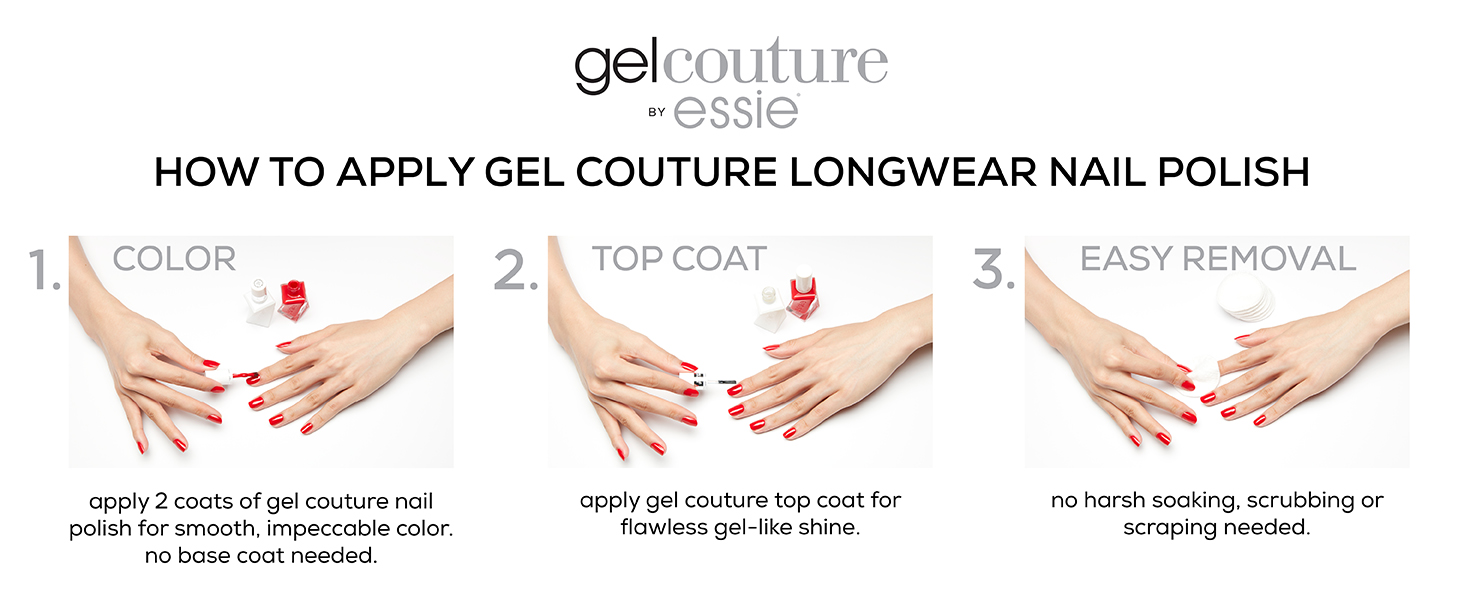 Amazon Com Essie Gel Couture Longwear Nail Polish Beauty