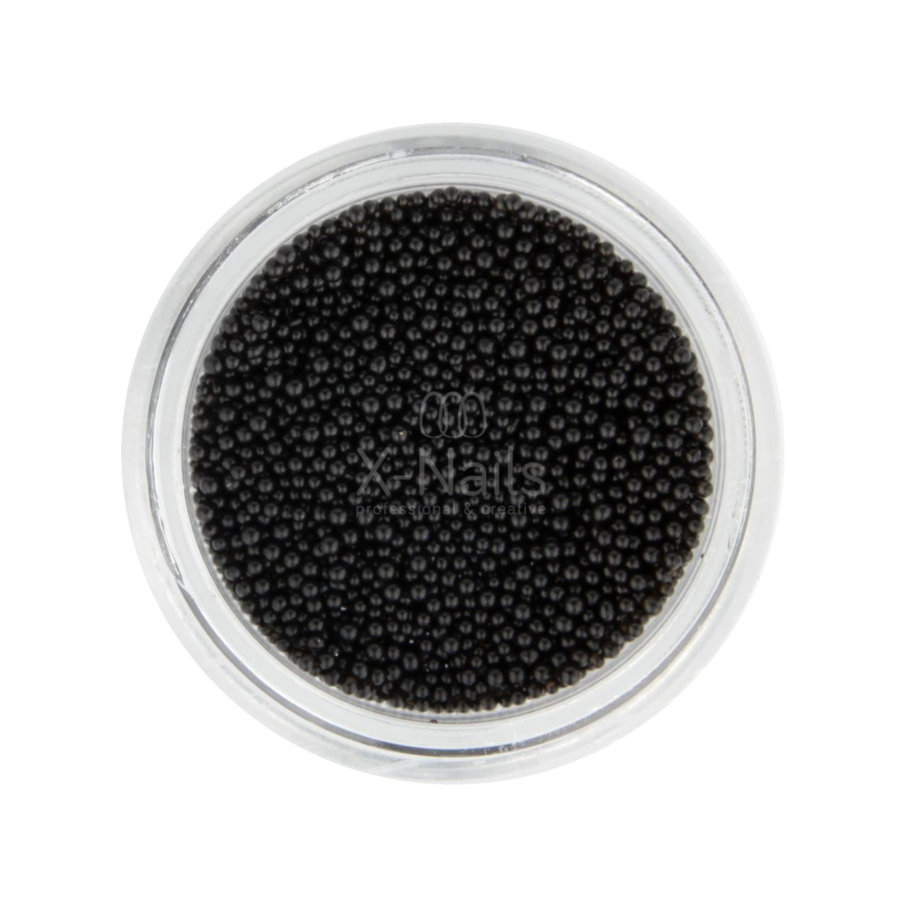X Nails Kaviar Na Zdobeni Nehtu Miniperlicky Cerne X Nails Gelove Akrylove Nehty