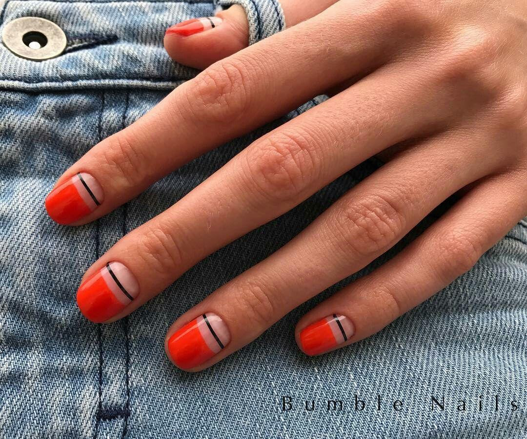 Minimalist Nail Design Nailart Naildesign Beauty Design Nehtu Gelove Nehty Nehty