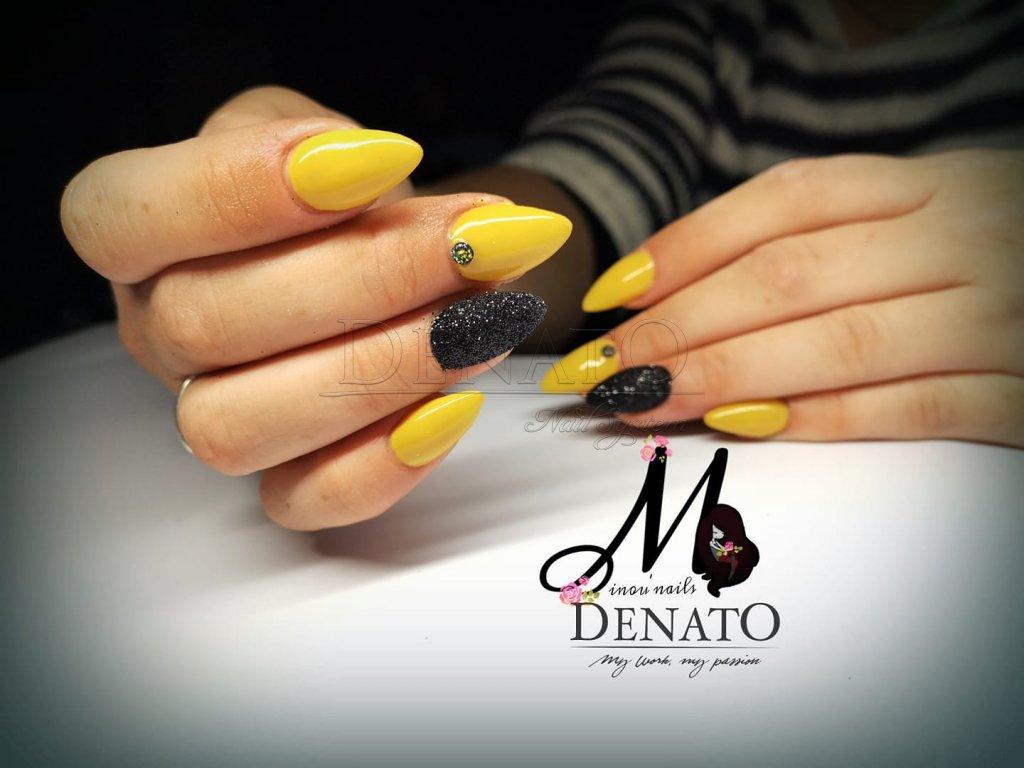 Denato Mustard Barevny Gel