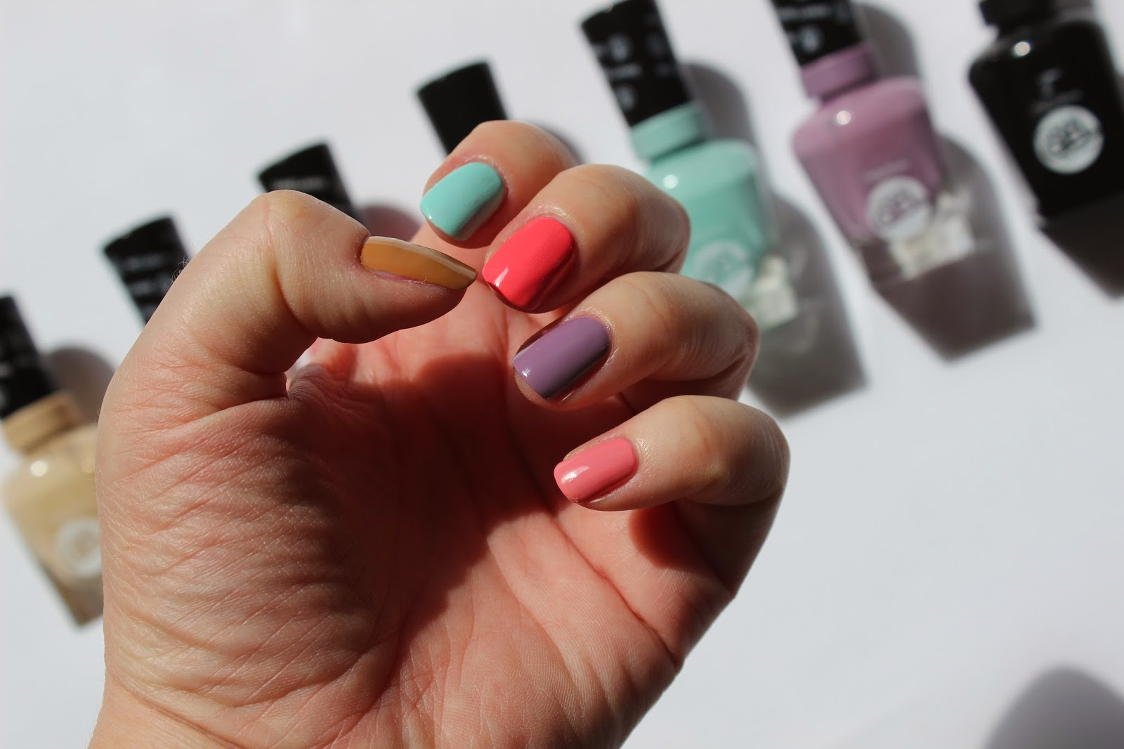 Sally Hansen Miracle Gel Czyli Manicure Zelowy Subiektywnablog