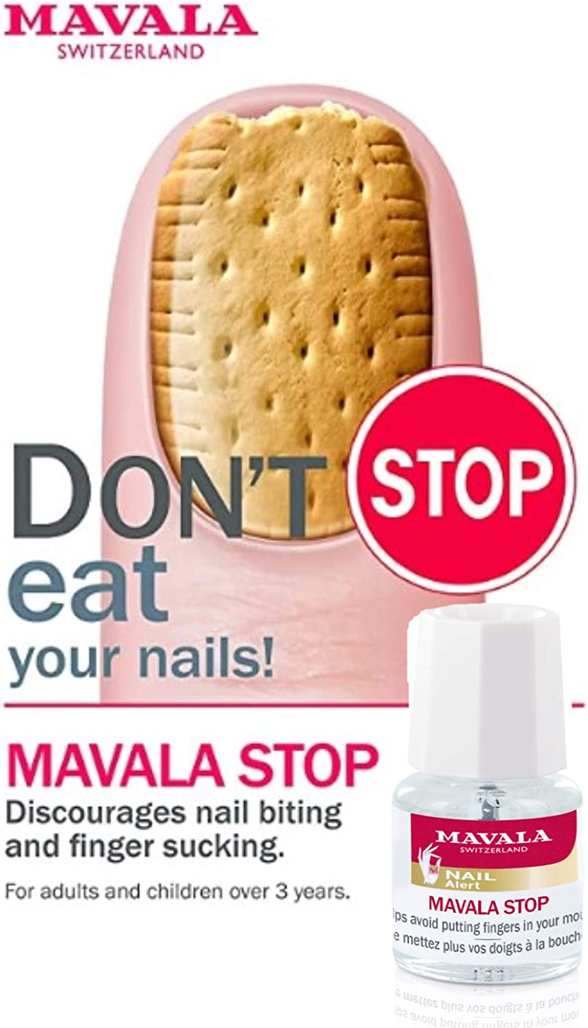 Mavala Stop Discourages Nail Biting And For Children And Adults 5ml Amazon Co Uk Beauty