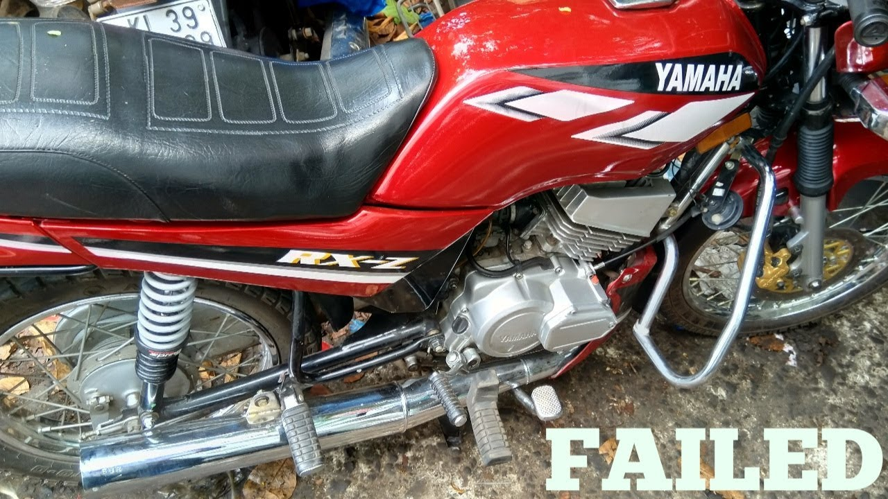 Yamaha Rx Z 135 5speed Exhaust Note Modificatin Failed By Muhammad Ali