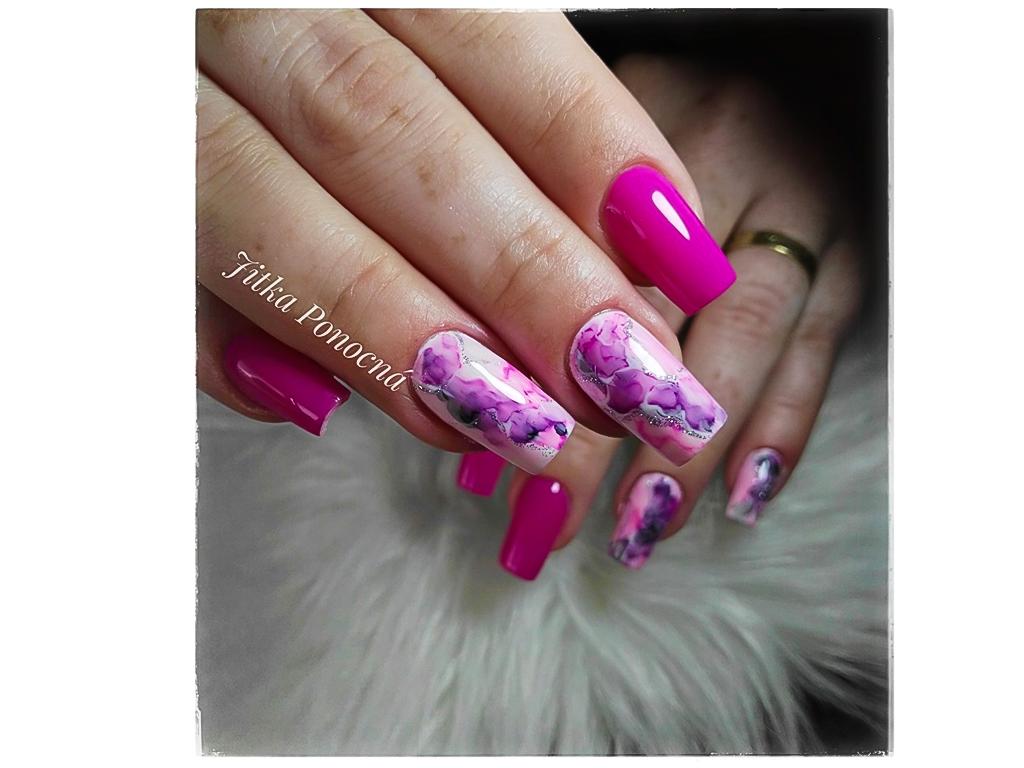 Ink Polish Lilac Fialovy Inkoustovy Lak Na Nehty 12ml