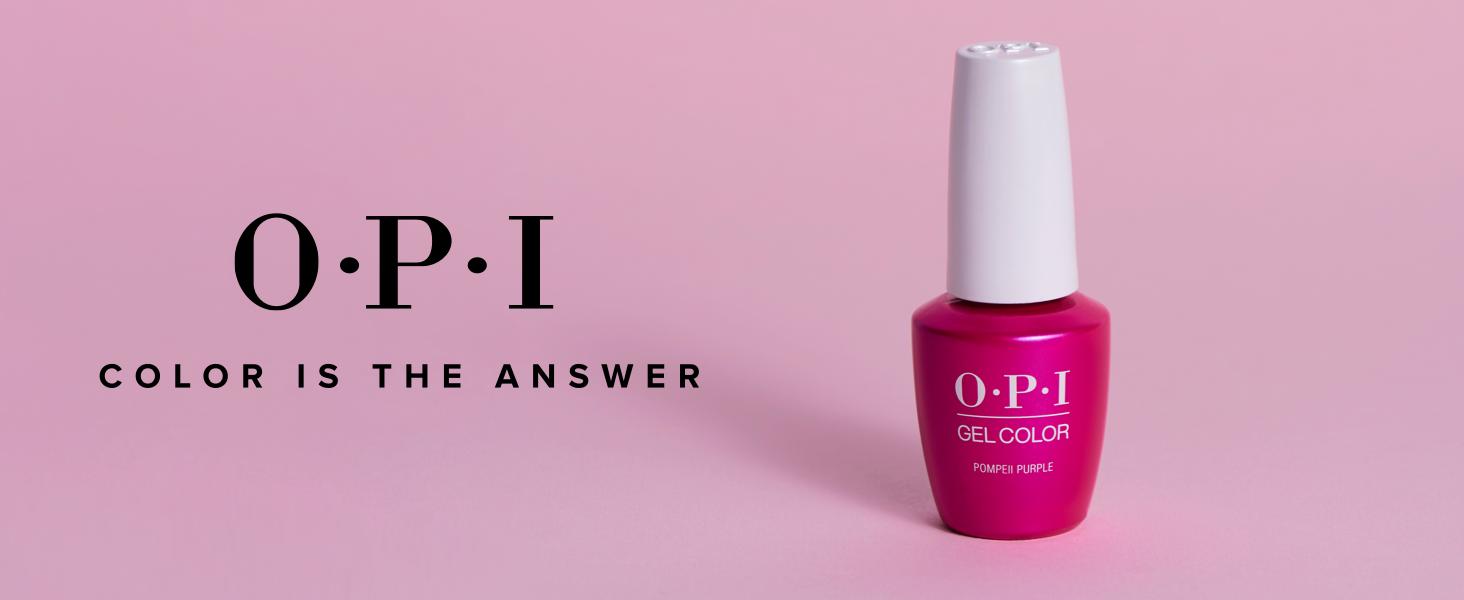 Amazon Com Opi Gelcolor It S A Girl 0 5 Fl Oz Gel Nail Polish Premium Beauty
