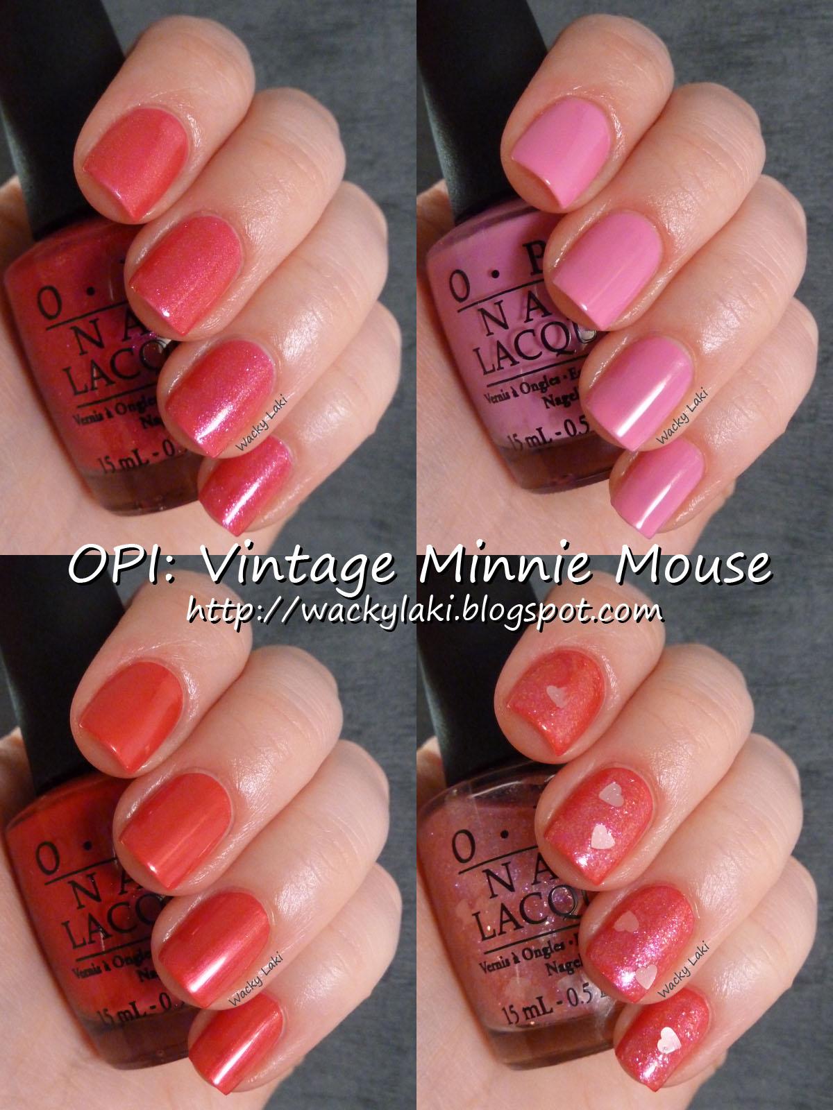 Wacky Laki Opi Vintage Minnie Mouse Collection