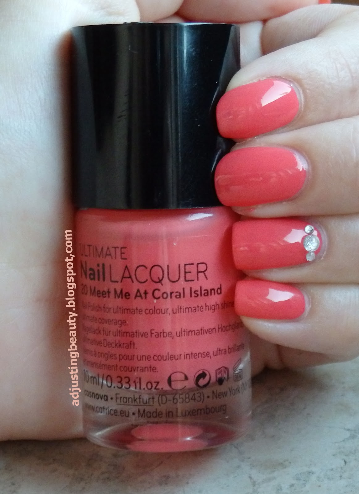 Catrice Nail Lacquer 20 Meet Me At Coral Island Adjusting Beauty