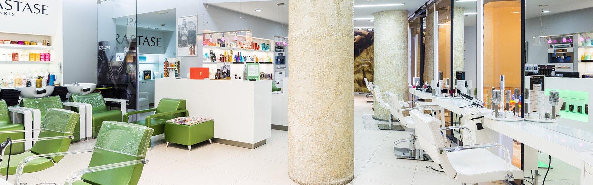 Kadernicky Salon Express Elite Hair Palladium Praha