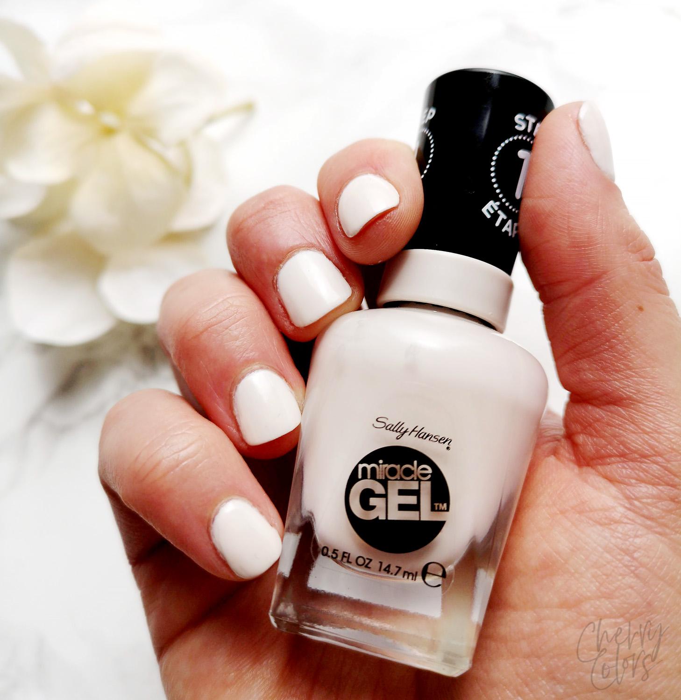 Sally Hansen Gel Creme De La Creme Cherry Colors Cosmetics Heaven