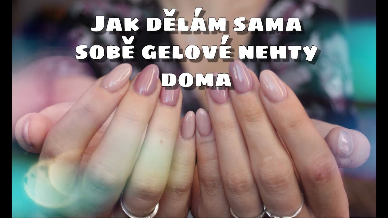 Gelove Nehty Doma Sama Sobe Kate Cosmetics Youtube