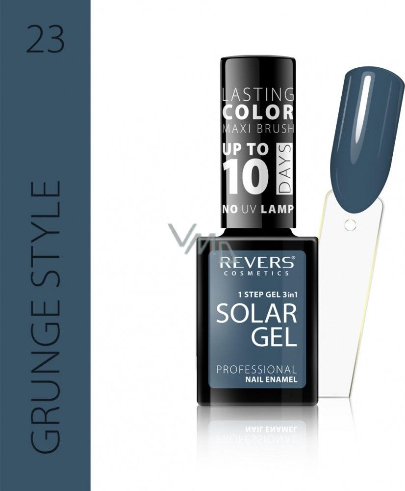 Revers Solar Gel Gel Nail Polish 23 Grunge Style 12 Ml Vmd Parfumerie Drogerie