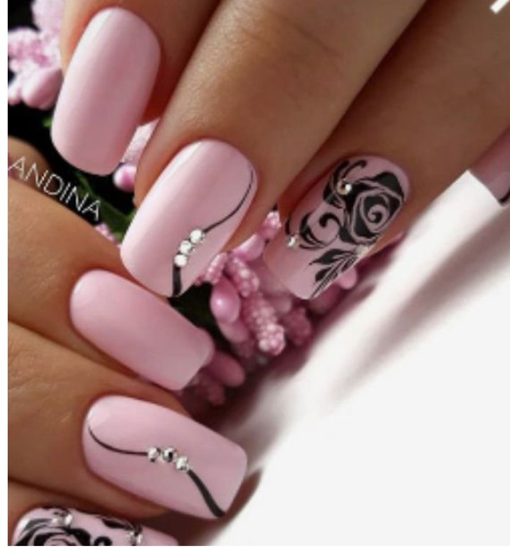 Pin By Jindriska Zamostna On Nails And Toes Slay Pretty Nail Art Designs Pink Gel Nails Pink Nails