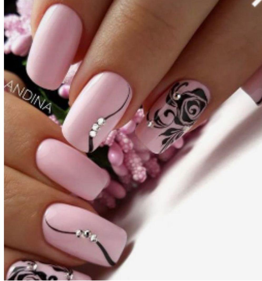 Pin By Jindriska Zamostna On Nails And Toes Slay Pretty Nail Art Designs Pink Gel Nails Pink Nails