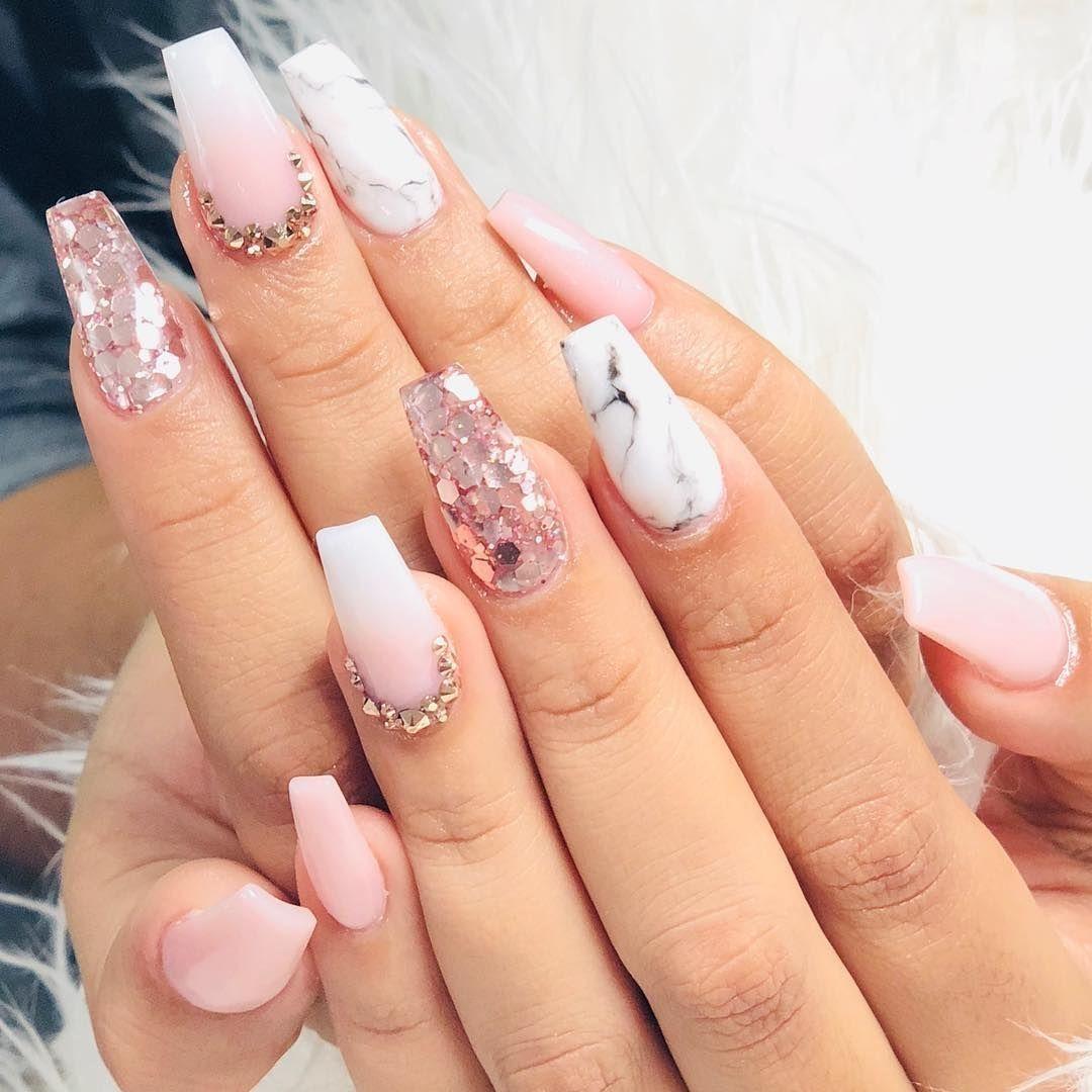 36 Must Try Acrylic Nail Design 2019 Gelove Nehty Nehty