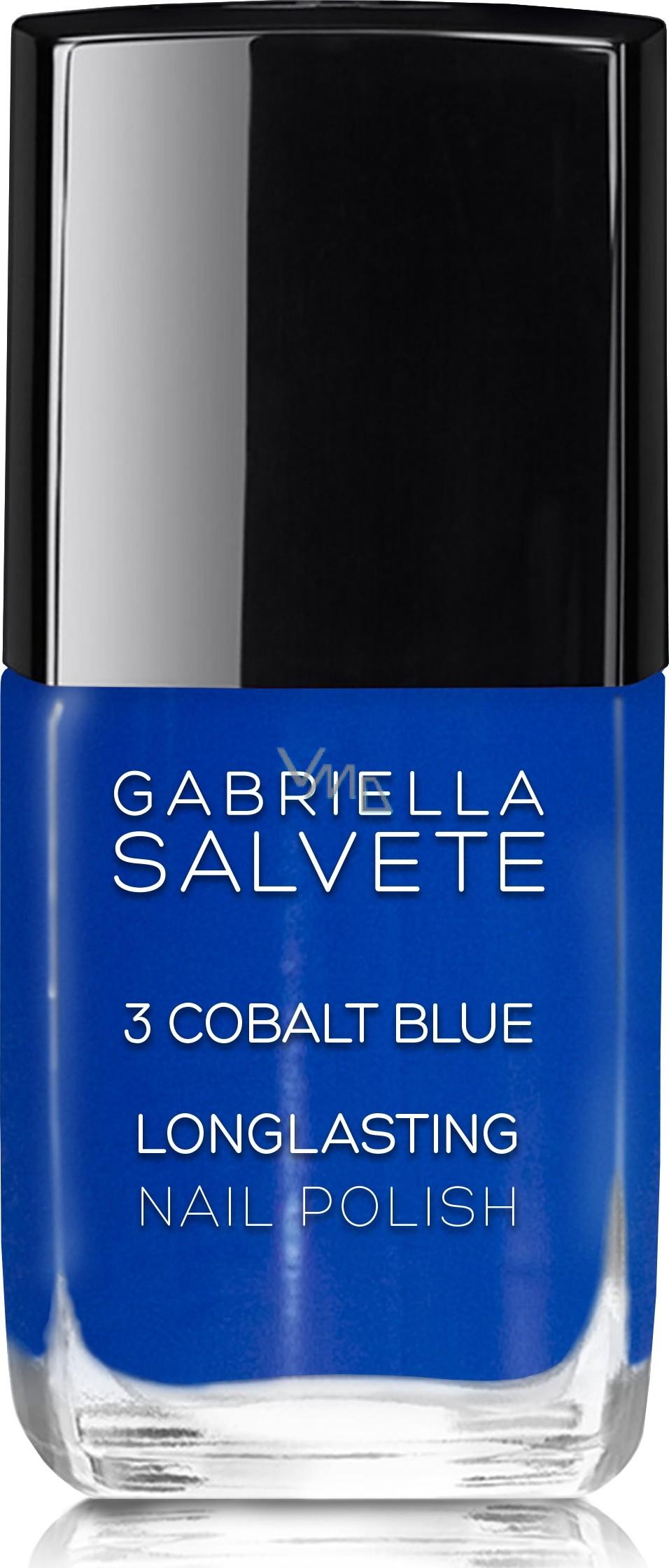 Gabriella Salvete Longlasting Enamel Nail Polish 03 Cobalt Blue 11 Ml Vmd Parfumerie Drogerie