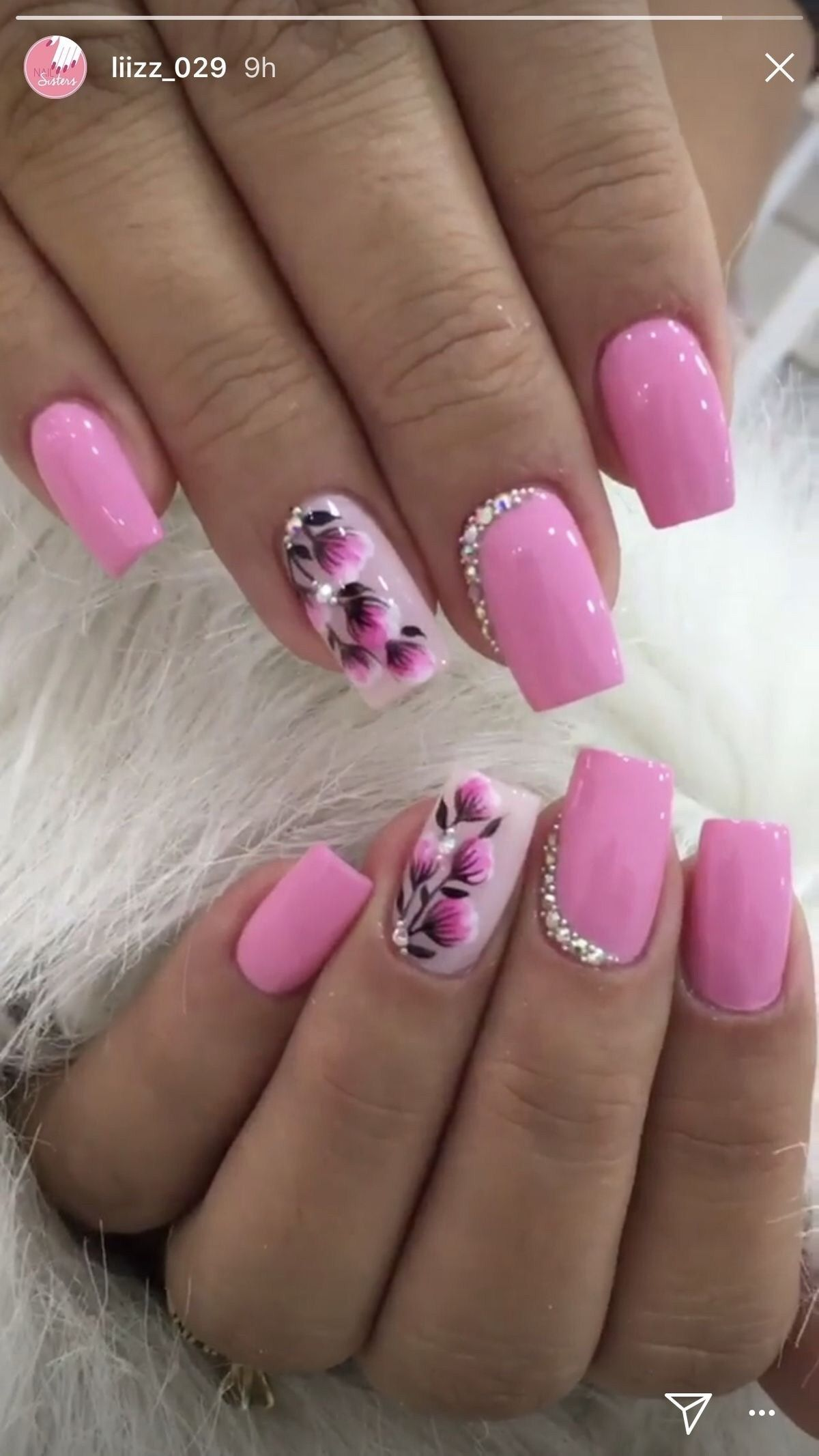 50 Beautiful Spring Nail Design Ideas Gelove Nehty Design Nehtu A Nehty