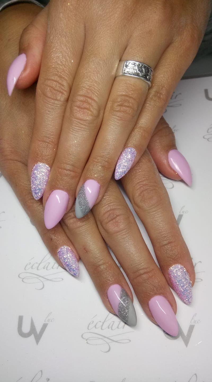 Pin By Petra Doubova On Nails Pink Nails Gel Nails Nail Designs