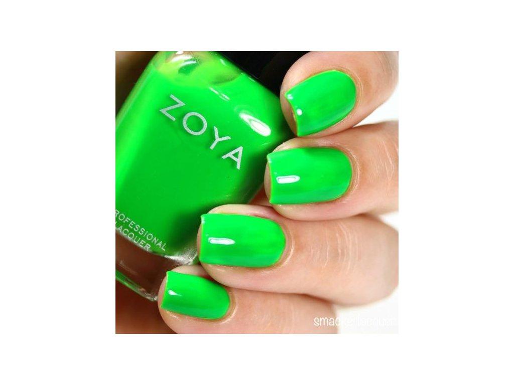 Zoya Lak Na Nehty 15ml 868 Neon Evergreen Raj Nehtu