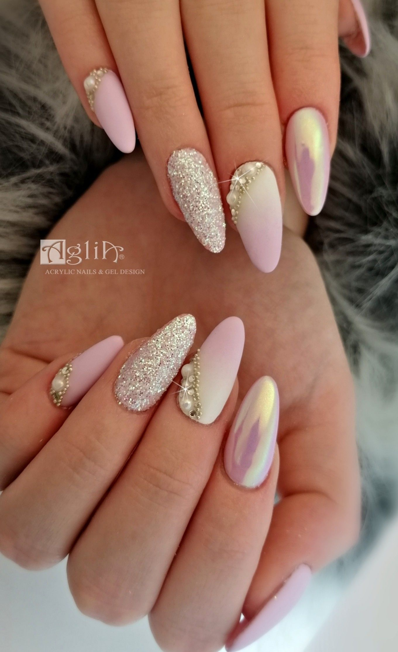 Acrylic Nails Gel Design