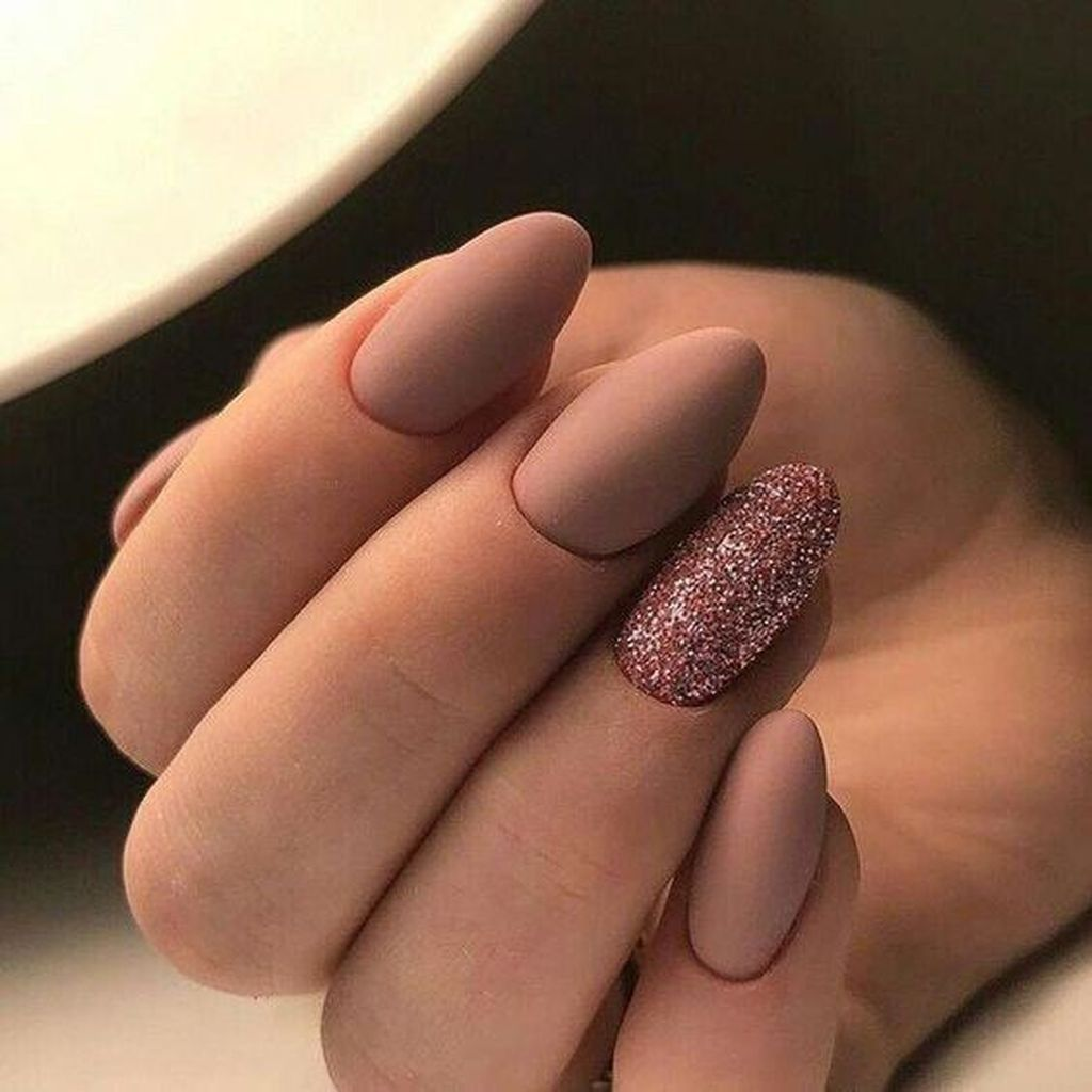 25 Precise Nails Art Design For Fall Matte Nails Design Matte Nails Manicure
