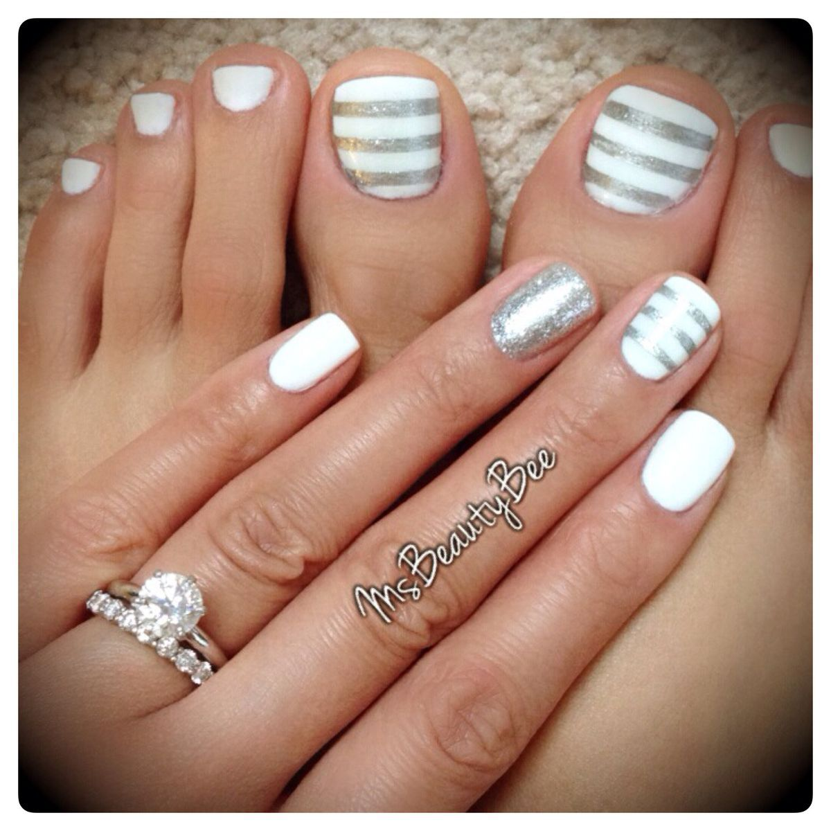 86f9bad18661a8104db3fb14a6ab67d6 Jpg 1 200 1 200 Pixels Toe Nails Striped Nails Manicure And Pedicure