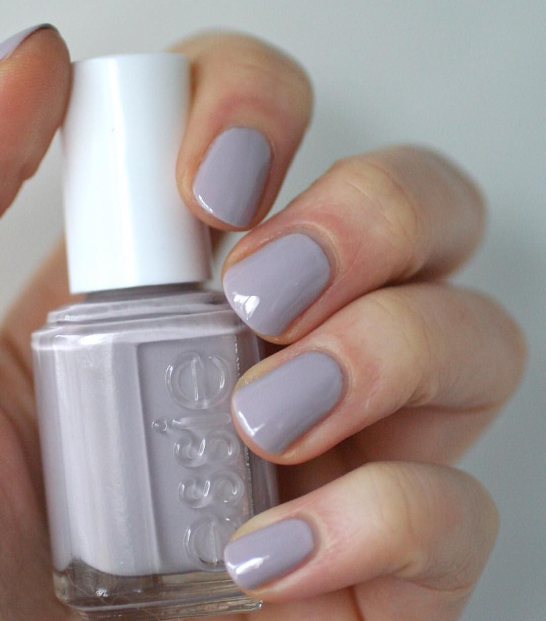 835 Likes 54 Comments Kindra Birss Essie Envy On Instagram Been Feeling In A Grey Mood All Day Wearing Essie Love Acceptance A Greyed Out Lilac Es