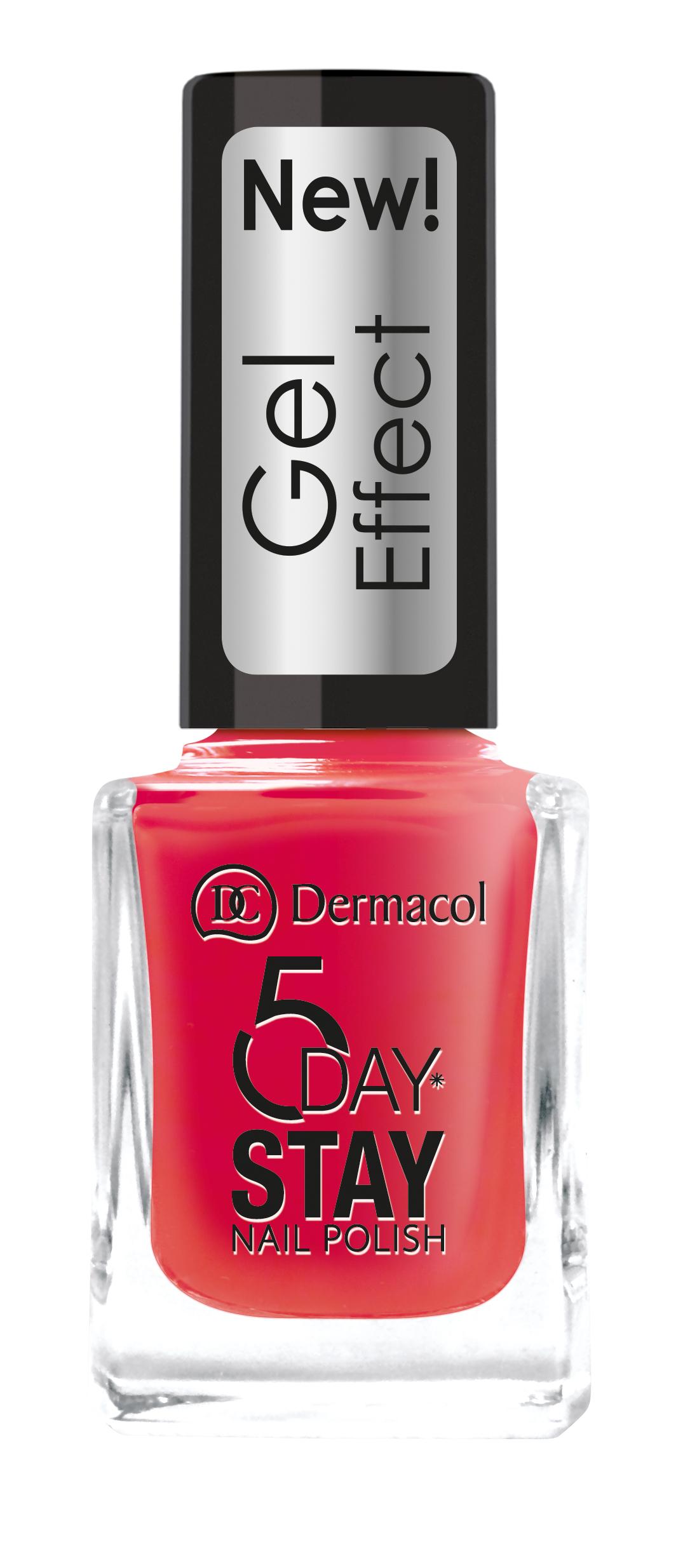 Dermacol Lak Na Nehty S Gelovym Efektem 5 Day Stay Nail Polish Gel Effect 12 Ml Parfemy Cz