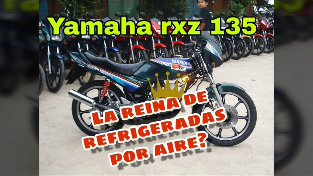 Yamaha Rxz 135 La Mas Potente Refrigerada Por Aire Youtube