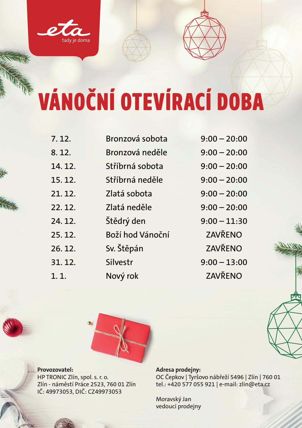 Eta Znackova Prodejna Zlin Oc Cepkov By Eta Cr Issuu