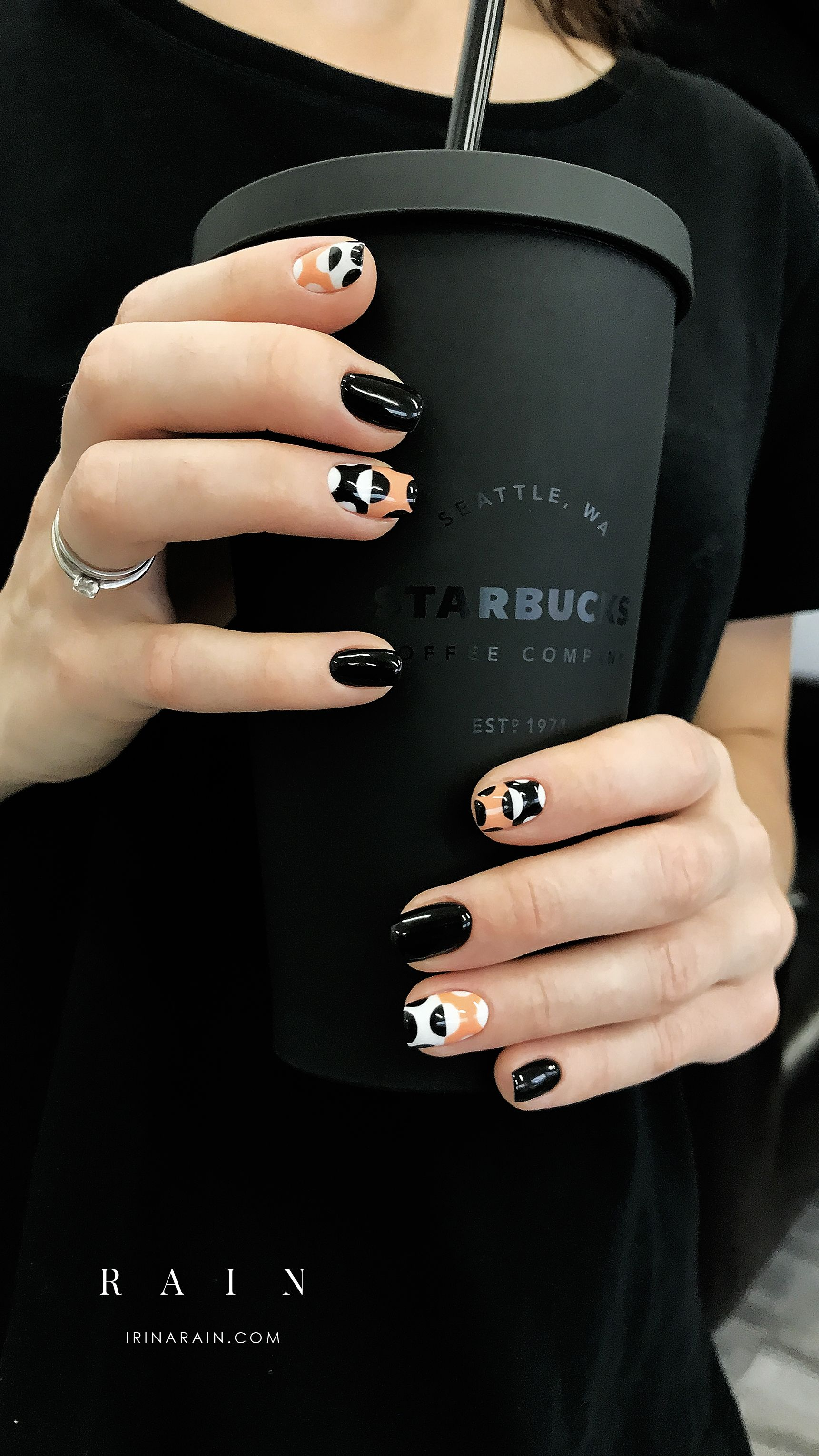 These Nails Are To Die For Nail Art Ideas Ideas De Unas Acrylic And Gel Nail Manicure Idea Fall Nail Art Trendy Nails Fall Manicure Manicure