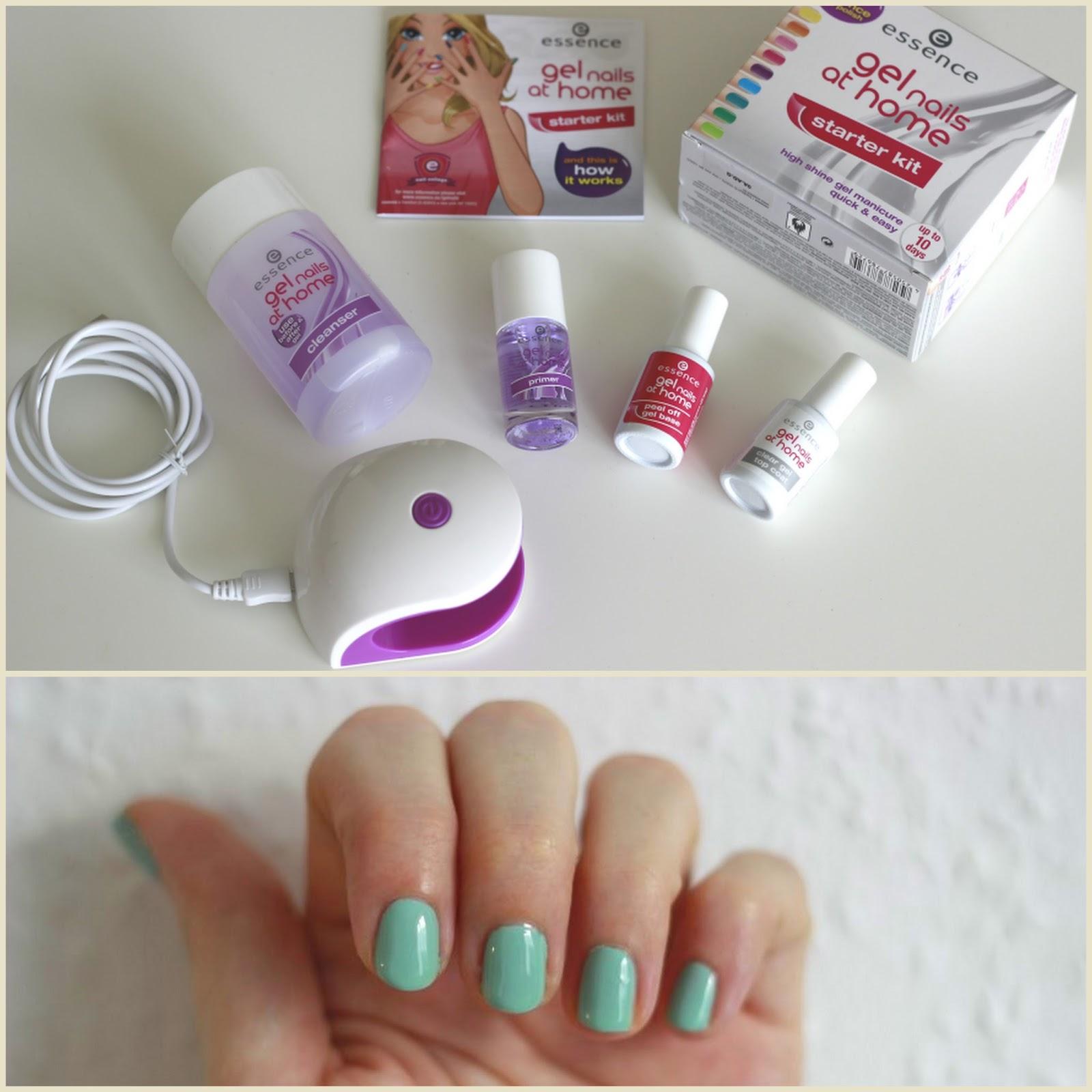 Lepesrol Lepesre Essence Gel Nails At Home Szett For Her Blog