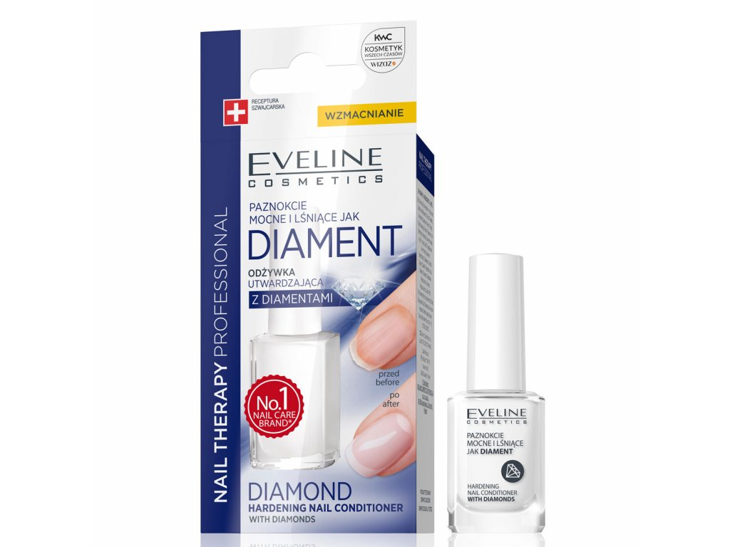 Eveline Cosmetics Nail Therapy Zpevnujici Lak Na Nehty Evelio Cz