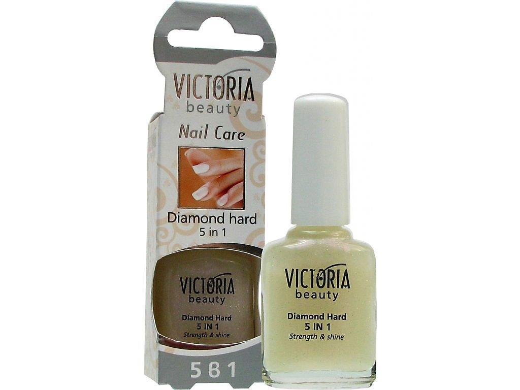 Victoria Beauty Nail Care Diamantova Pevnost Pro Vase Nehty 5 V 1 12 Ml Salondoma Cz