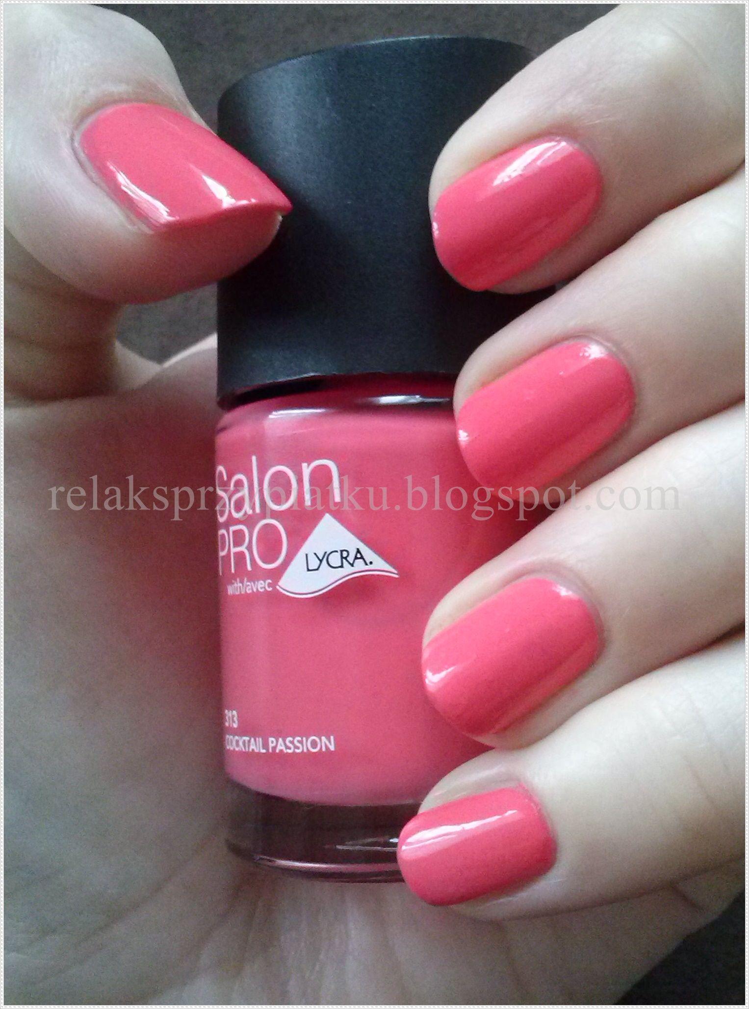 Rimmel Salon Pro Coctail Passion Nail Colors Nails Nail Polish