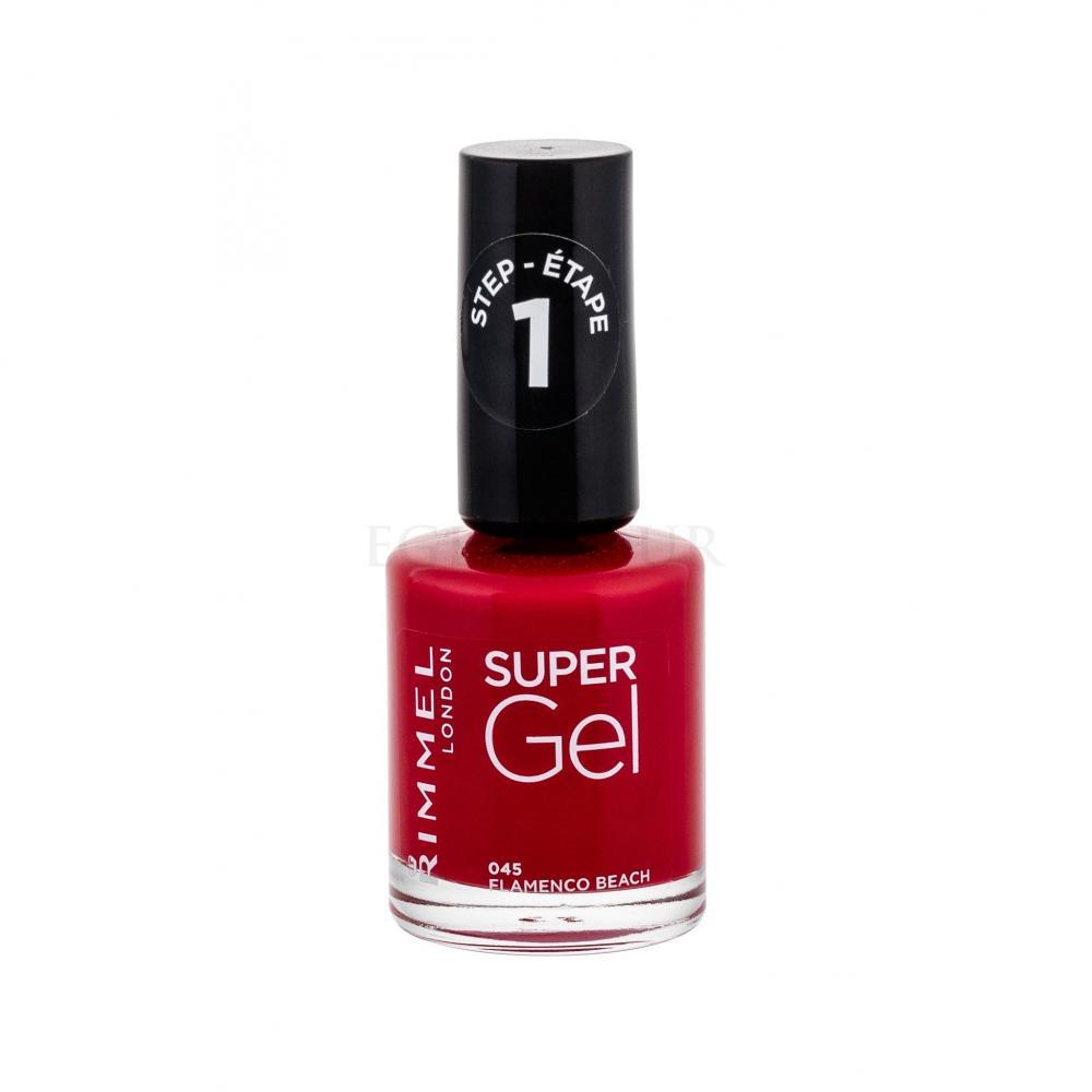 Rimmel London Super Gel Step1 Lakiery Do Paznokci Dla Kobiet Perfumeria Internetowa E Glamour Pl