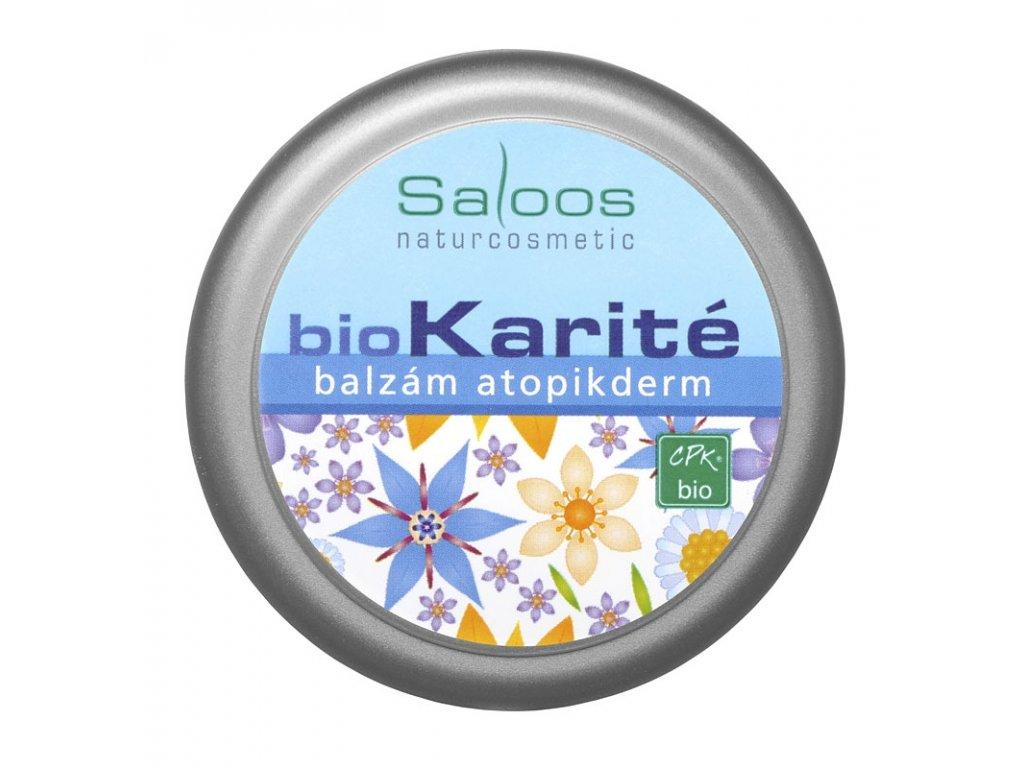 Saloos Bio Karite Balzam Atopikderm 50ml Brainmarket Cz