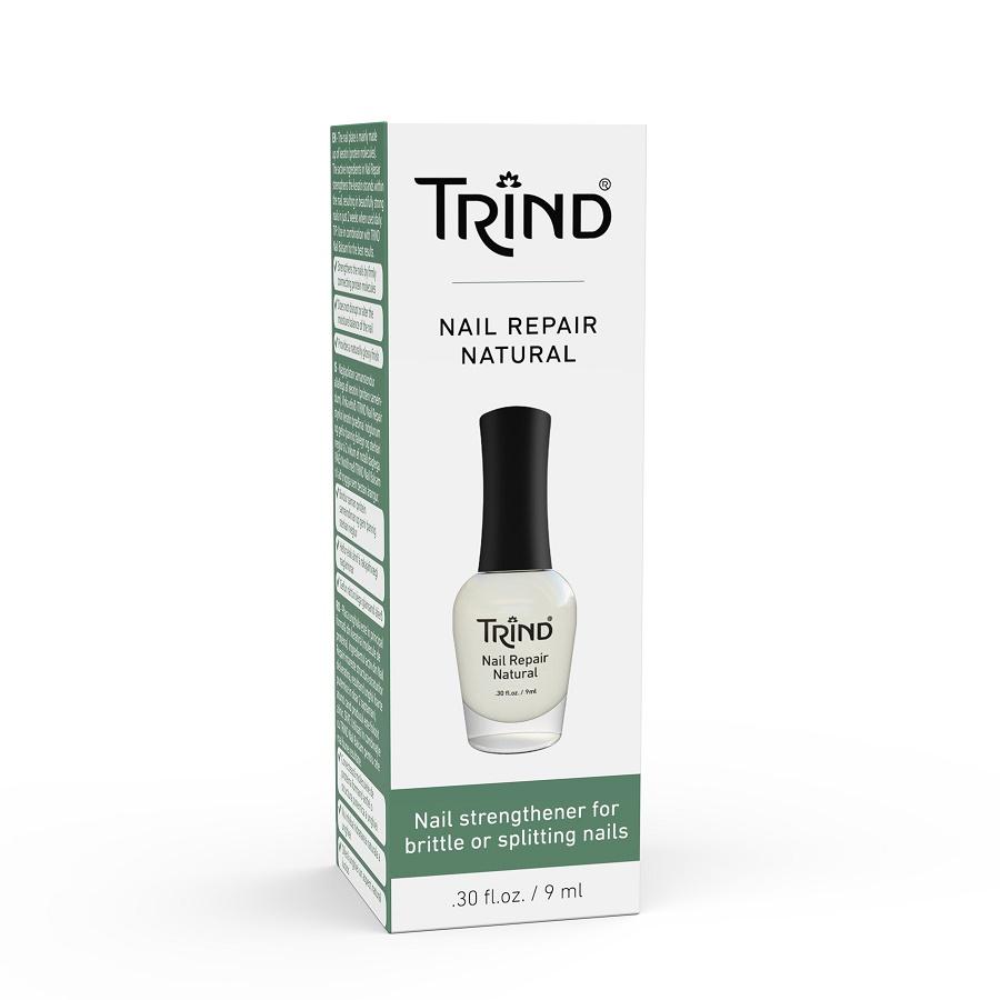 Trind Zpevnovac Nehtu Natural Transparentni Mlecny Expa Nails