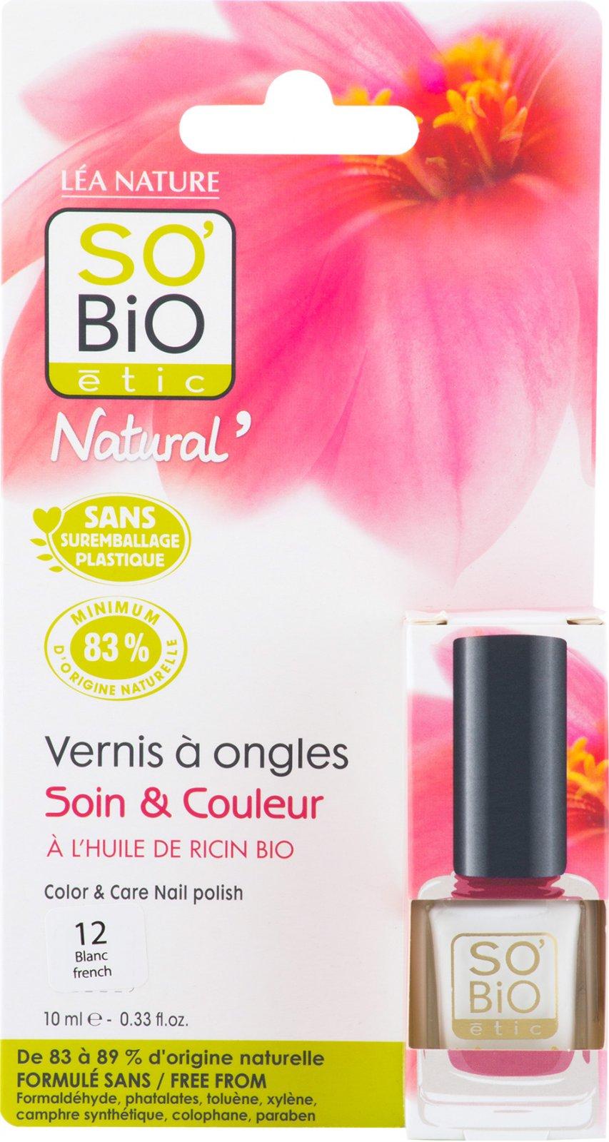 So Bio Etic 12 Francouzska Manikura Bila 10 Ml Od 188 Kc Zbozi Cz