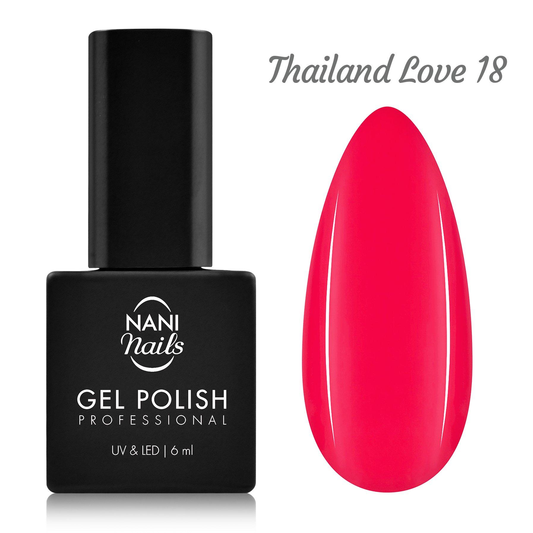 Nani Gel Lak 6 Ml Thailand Love Naninails Cz