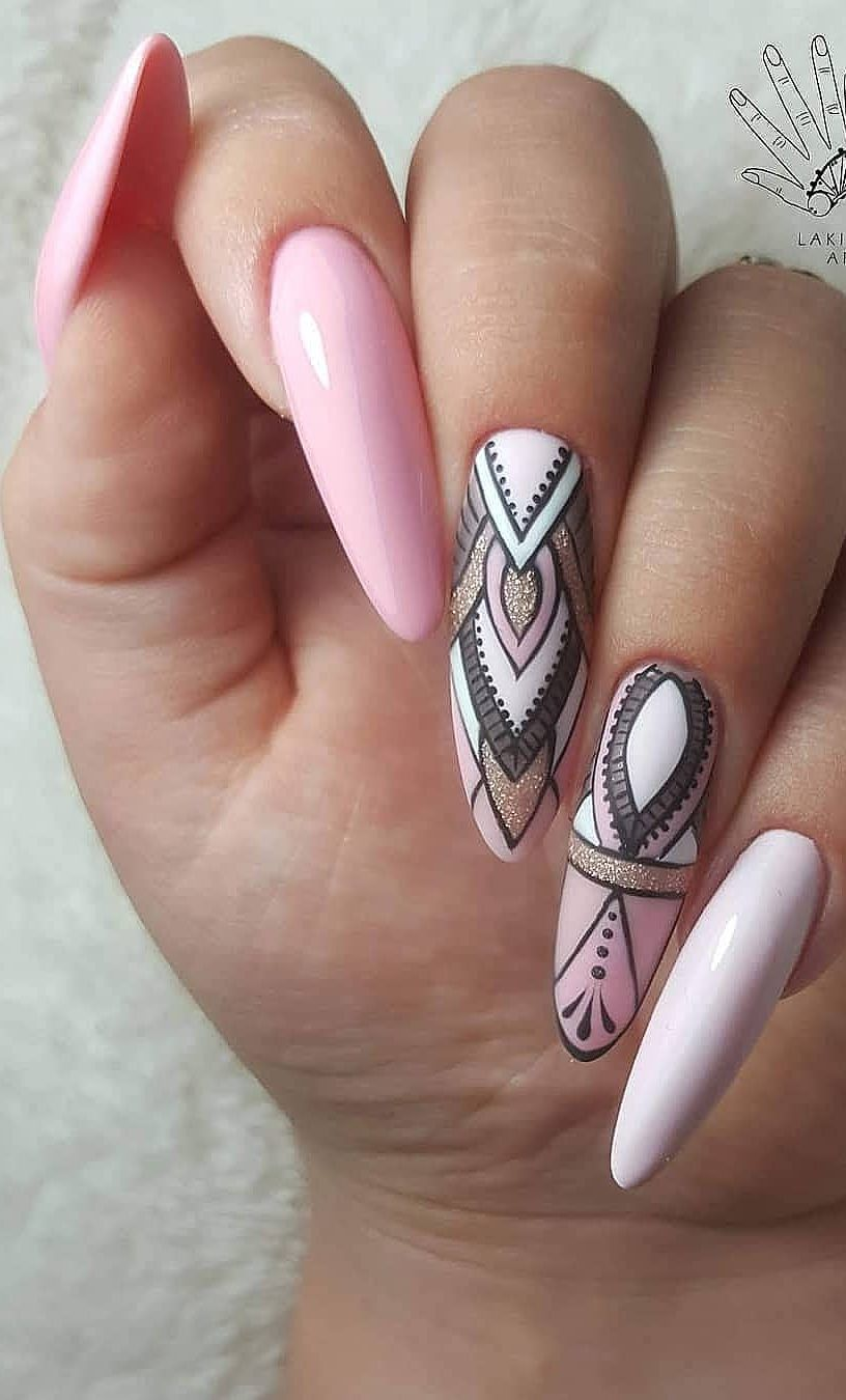 Nailswag Hashtag Instagram Posts Videos Stories On Pinsta Xyz Almond Acrylic Nails Acrylic Nail Designs Summer Acrylic Nails